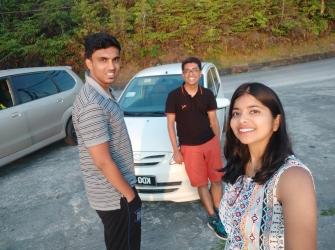 Driving around Langkawi :D