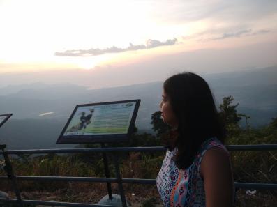Sunsets at Gunung Raya