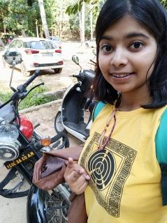 Solo girl bike ride