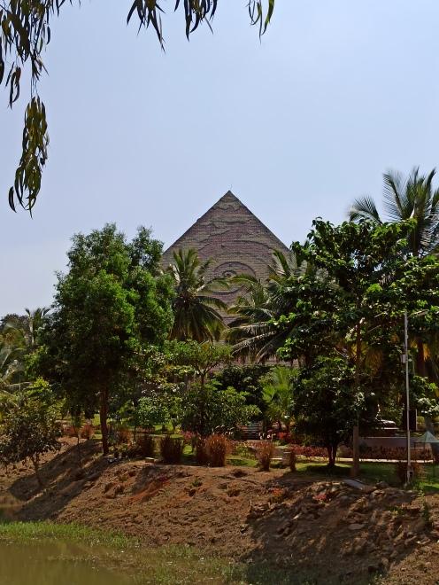 The main pyramid for meditation